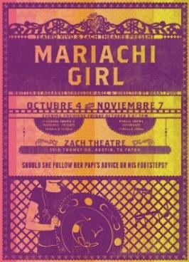 10-2012 TV Mariachi Girl poster
