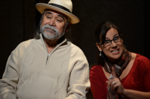 Don Roberta and Dona Maria in Vecinos